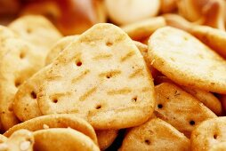 Crackers, close-up