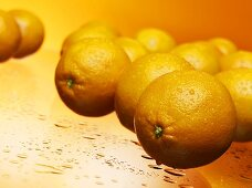 Several oranges