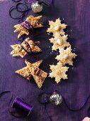 Macadamia and coconut stars & nut slices