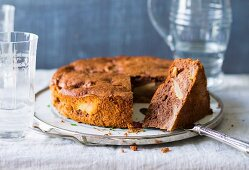 Baking with stevia: Russian apple cake