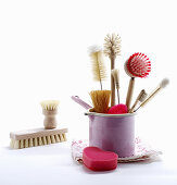 Various cleaning brushes