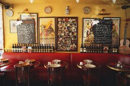 A little table in a tapas bar