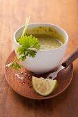 Aioli with parsley