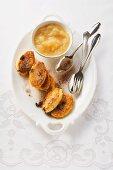 Dresden Quarkkeulchen (potato and quark cakes)