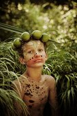 Boy Wood Nymph with Limes in Long Grass