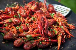 Barbecue crayfish (Swedish)