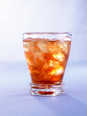 Disarono splash (cocktail with Amaretto liqueur & orange juice)