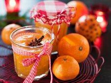 Christmas marmalade as a gift