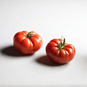 Two Red Star tomatoes