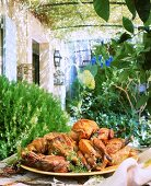 Herb chicken from Provence