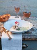 Bourride (Provencal fish stew)