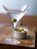 Martini Dry mit Oliven