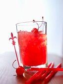 Cocktail Zombie mit Rum und Fruchtsaft