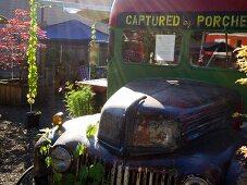 Old 'Food Truck' (street kitchen) in Portland, Oregon