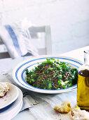 Lentil salad with coriander (Greece)