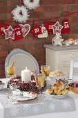 Various dishes for Christmas