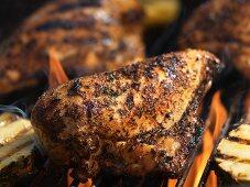 Jamaican Jerk Chicken on the Grill