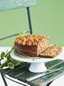 Christmas cake with walnuts (English)