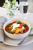 Sweet potato stew