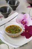 Asian chilli and herb sauce