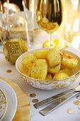 Oven-baked potatoes