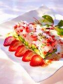 Seabream and avocado tartar