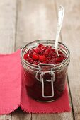 Beetroot salad with pepper