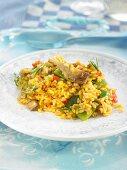 Vegetable rice (Spain)