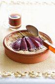 Dolce alla pera (marsala pear and almond cream bake)