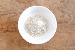 Guerande Salz aus Frankreich im Schälchen
