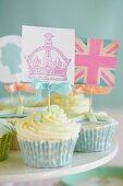 Royal cupcakes (England)