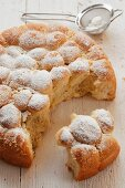 Milinki - baked, sweet yeast dumplings from Bulgaria