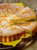 Chiffon de naranja (sponge cake with orange juice)