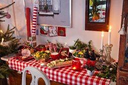 A Swedish Christmas buffet