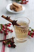 St. John's wort tea with spices
