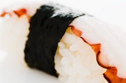 Nigiri sushi with octopus