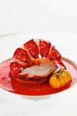 Hummer im Tomatenfond mit Gnocchi