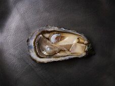 A raw belle fermanvillaise creuse oyster
