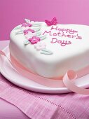 Decorated Mothers Day cake
