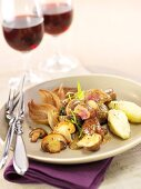 Veal kidney fricassee