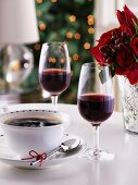 Coffee and coffee liqueur (Christmas)