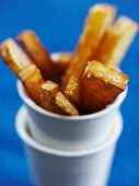 Chips in a cup