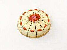 A carrot cake