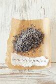 Lavendel (Lavandula angustifolia), getrocknet
