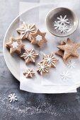 A plate of cinnamon stars