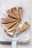 Pecan nut shortbread
