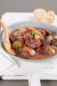 Stifado (Greek stew)