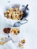 Spiced caramel popcorn