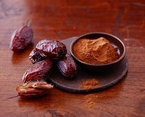 Fresh-baked and ground cinnamon