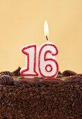 Birthday for sixteen years